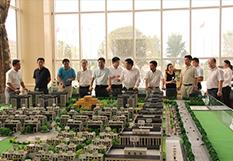 领导视察航空港区项目